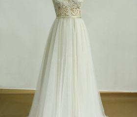Lace Wedding Dress,W..