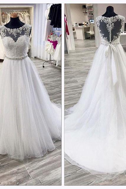 Wedding Dress,A-line Wedding Dress white Wedding Dresses,Luxury Wedding Dress,Crystal Wedding Dress,Sweetheart Wedding Dress,Beaded Wedding Dresses,Long Wedding Dress,Gothic Wedding Dress,Unique Wedding Dress,Puffy Bridal Dress,Dress For Bride